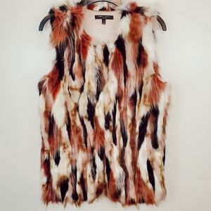Romeo And Juliet Couture Faux Fur Vest Small